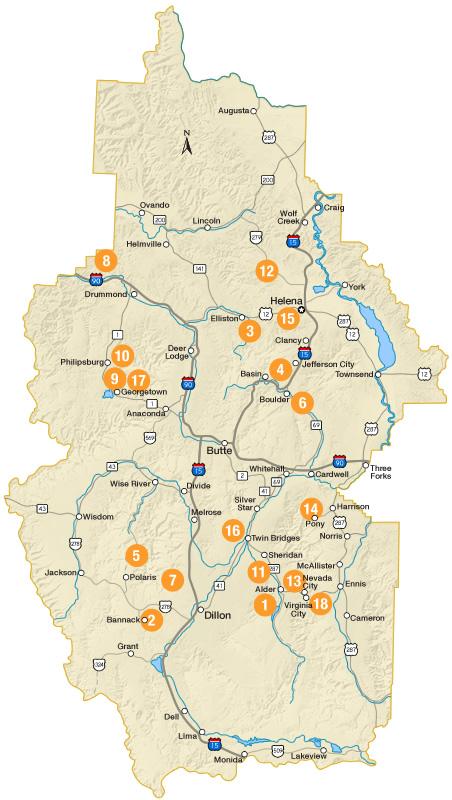 Welcome to Southwest Montana | Montana Tourism Information