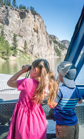 Gates of the Mountains offers boat tours throughout the summer
